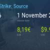 Counter-Strike: Source · AppID: 240 · SteamDB